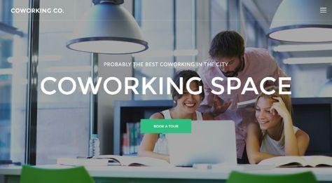 8 Mejores Plantillas WordPress para Espacios Coworking en 2019