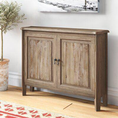 Loon Peak Taumsauk 2 Door Accent Cabinet Weathered Furniture