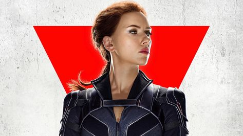 Scarlett Johansson HD Black Widow Wallpaper