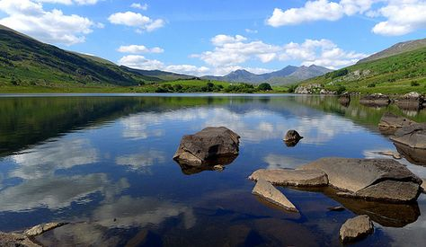 The beautiful Snowdonia in Wales is full of awe-inspiring views wherever you look.