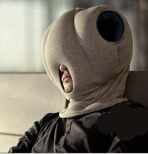 The Magical Ostrich Pillow Neck Protection Office The Nap Pillow