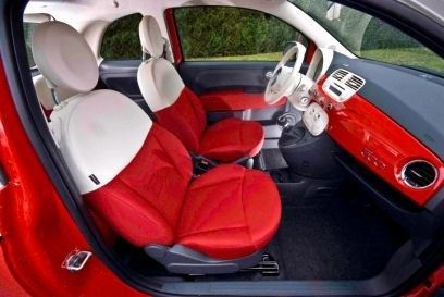 Red Inside With Images New Fiat Fiat 500 Fiat