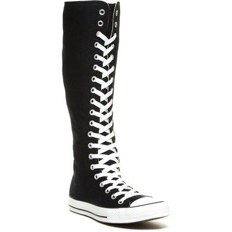 List of Pinterest knee high shoes converse black images