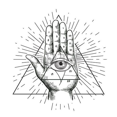 Pin By Kimmie On All Seeing Eye Hipster Illustration All Seeing