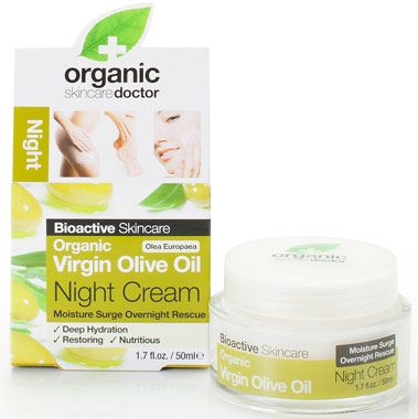 Organic Doctor Virgin Olive Oil Night Cream At Vitamin World Organic Doctor Night Creams Face Care Acne