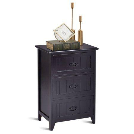 Home Table Storage Drawer Storage Unit Small Bedroom Storage