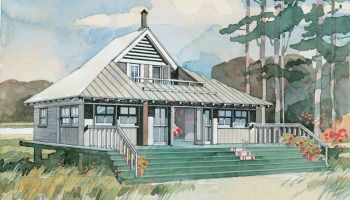 Introducing House Plan Thursday Coastal Living House Plan Sl 593 Whoa Artfoodhome Com Beach Cottage Design Tiny Beach House Rustic House Plans