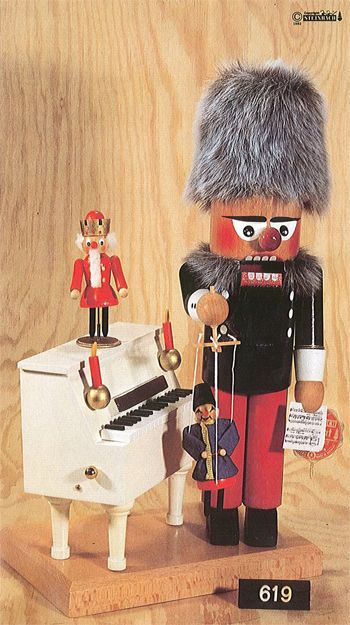 Steinbach's Great Artists and Composers Nutcracker Series