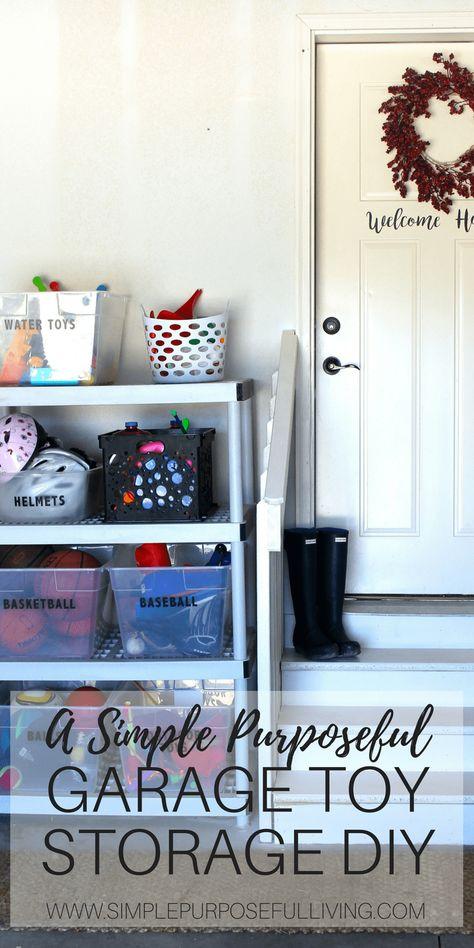 Diy Garage Toy Organization Diy Toy Storage Bedroom