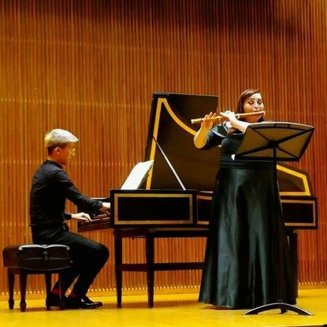 Making CONnections: Kelsey Burnham & Peter Lim (Oberlin Baroque Orchestra) by Oberlin Conservatory