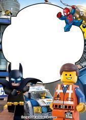 FREE LEGO Movie Invitations for Birthday – FREE PRINTABLE Birthday Invitation ... ,  #Birthday #birthdayinvitationwording #Free #Invitation #Invitations #Lego #Movie #printable