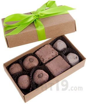"Garden Bon Bons...  This box of ten ""chocolates"" is for planting, not eating..."