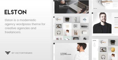 Elston v1.7.1 – Portfolio WordPress Theme for Freelancers & Agencies