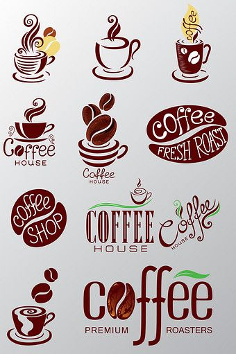 Variety Of Coffeeeeeeee Icon Png Images Ai Free Download Pikbest Coffee Icon Coffee Shop Branding Coffee Shop Logo