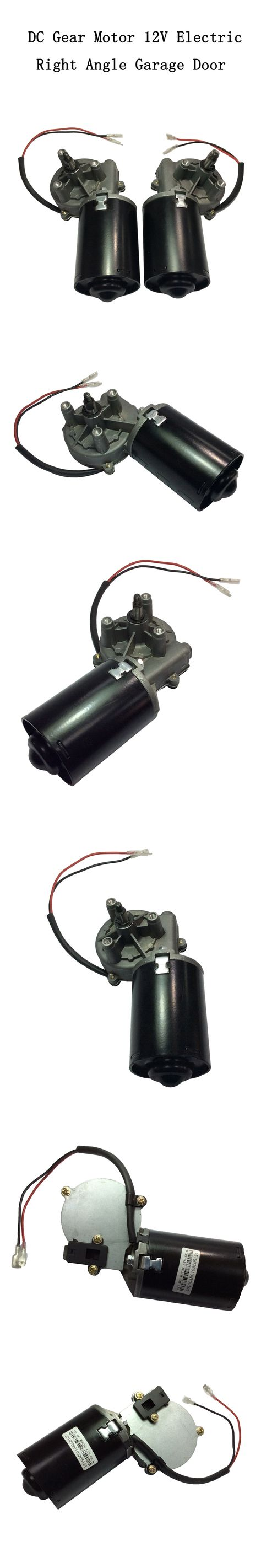 Dc Gear Motor High Torque 6n M Garage Door Raplacement 12v Electric Right Angle Reversible Worm Gear Motor Left Gear Box Motores