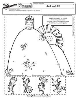 Jack And Jill Nursery Rhyme Activity Nursery Rhymes
