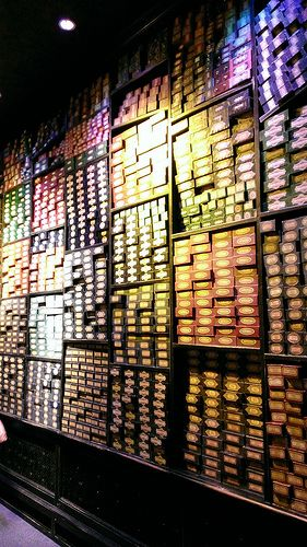 Warner Brothers Stuido Tour of Harry Potter..I got my wand in the WW of HP in Orlando and will be getting one at the Studio Tour in London in less than a month. Eeeeekkk