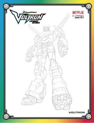 Voltron Legendary Defender Lion Coloring Pages Coloring Pages Voltron