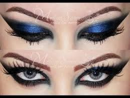 Belly dance eye makeup