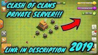 Clash Of Clans Hack 2019 - UNLIMITED GEMS, PRIVATE SERVER