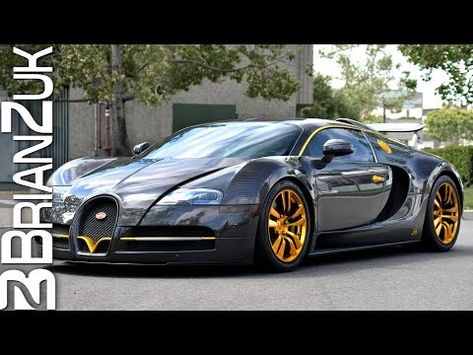 Mansory Linea Vincero d'Oro Bugatti Veyron - YouTube | VIDEO ...