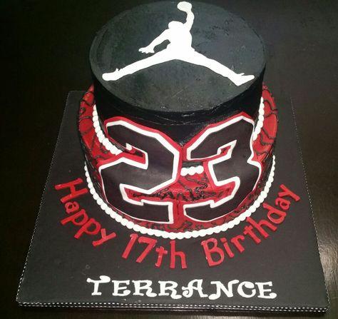 Brilliant Michael Jordan Birthday Cake Michael Jordan Birthday Birthday Funny Birthday Cards Online Elaedamsfinfo