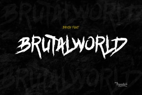 Brutalworld (Font) by Tigade std · Creative Fabrica