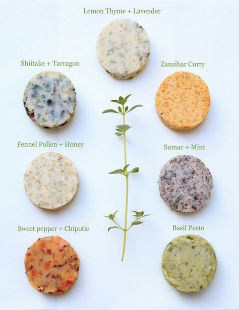 How To Make Flavored Butter with Herbs!