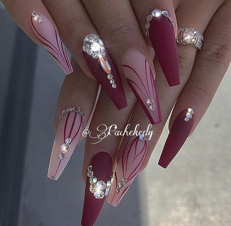 Top 82 Winter-Inspired Nail Art Designs For 2019  #andnails #Art #Designs #NAIL