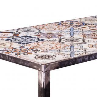 Neu Esstisch Esszimmertisch Ibiza Metallgestell Tischplatte Mosaik