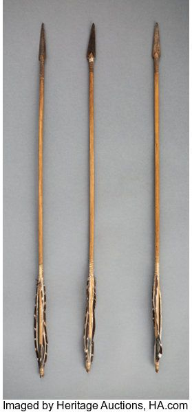 American Indian Art:Pipes, Tools, and Weapons, Three Plains Arrows