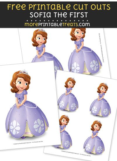 Printable Sofia The First : printable, sofia, first, Princess, Theme, Printables
