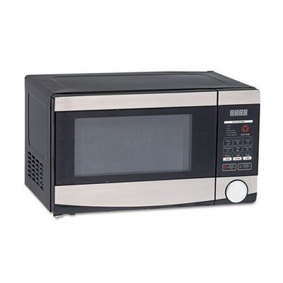 0 7 Cu Ft Capacity Microwave Oven 700 Watts Stainless Steel And