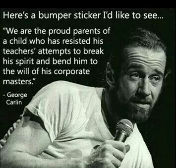 Top quotes by George Carlin-https://s-media-cache-ak0.pinimg.com/474x/12/ad/16/12ad16b160d48b6f0d774c38848e8a59.jpg
