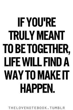 Soulmate And Love Quotes: Love & Soulmate Quotes : I used to repeat this on my mind Now I'm a believer