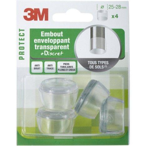 4 Embouts Anti Bruit A Emboiter En Plastique Diam 25 A 28 Mm 3 40 Plastique Leroy Merlin Avec Images Plastique