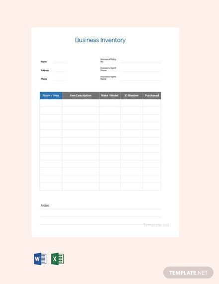 Baseball Card Inventory Excel Template In 2021 Templates Word Doc Excel Templates