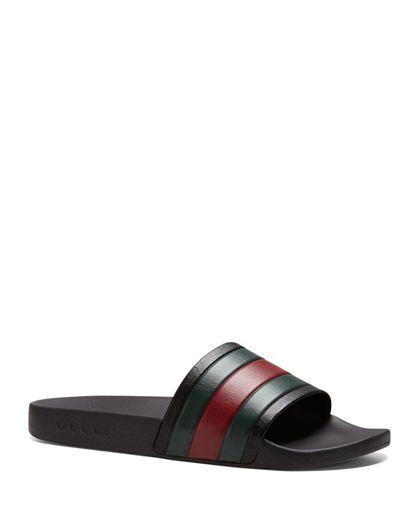 Gucci Pursuit '72 Rubber Slide Sandals