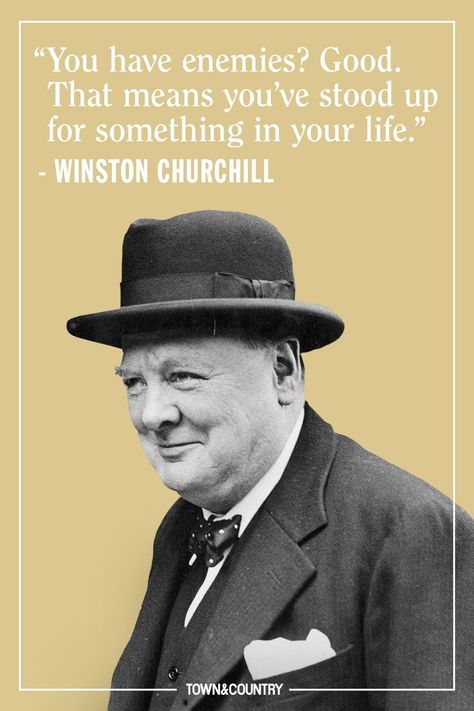12 Winston Churchill Quotes to Live By - TownandCountrymag. Winston Churchill, Churchill Quotes, Quotes By Famous People, Famous Quotes, Quotes To Live By, Famous Leadership Quotes, Funny People Quotes, Funny Quotes, Inspire Quotes