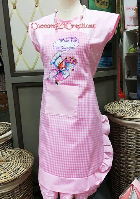 Tablier Enfant Humour Fantaisie Adorable Petite Fee Cuisiniere P Tite Fee En Cuisine Avec Images Tablier Enfant Tablier Enfant