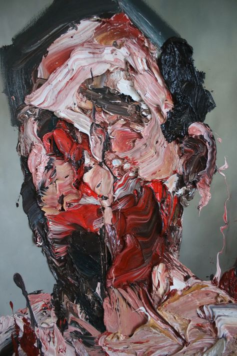 """Antony Micallef """"Contemporary Fine Artist"""" Paints abstract figures through his brush strokes and use of colors. The expression and texture of his strokes brings depth and interest to the viewer. Elephant Man, Figurative Kunst, Robert Motherwell, Cy Twombly, Francis Bacon, A Level Art, Wow Art, Art Plastique, Art Sketchbook"""