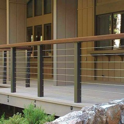 Maybe You Find The Fence You Already Have Is No Longer Attractive Or It Has Been Damaged However After Tha Deck Railing Design Patio Railing Railings Outdoor