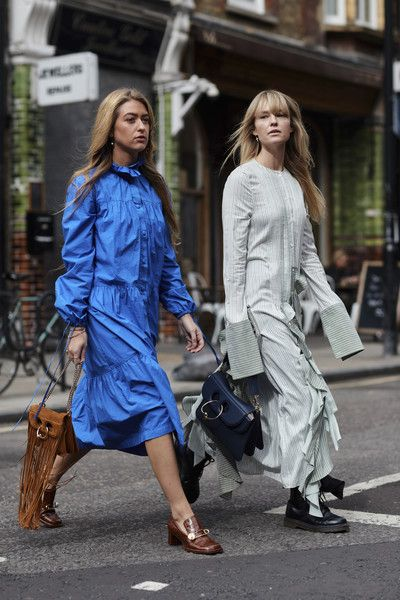Extra Fabric - The Most Inspiring Street Style at London Fashion Week - Photos