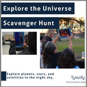 Scavenger hunt to explore the universe using the SkyView app | STEM