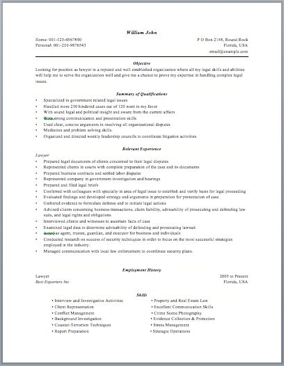 Court Administrator Resume resume Pinterest - public service officer sample resume
