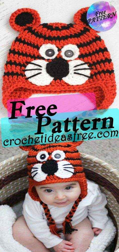 amirugumi-zoo-tiger-zebra-free-crochet-patterns-pin2 | Styles Idea | 997x474