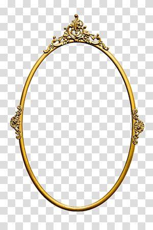 Oval Gold Mirror Frame Mirror Frames Vintage Mirror Transparent Background Png Clipart Gold Framed Mirror Vintage Mirror Mirror Illustration