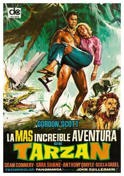La Gran Aventura De Tarzan 1959 Tarzan S Greatest Adventure De