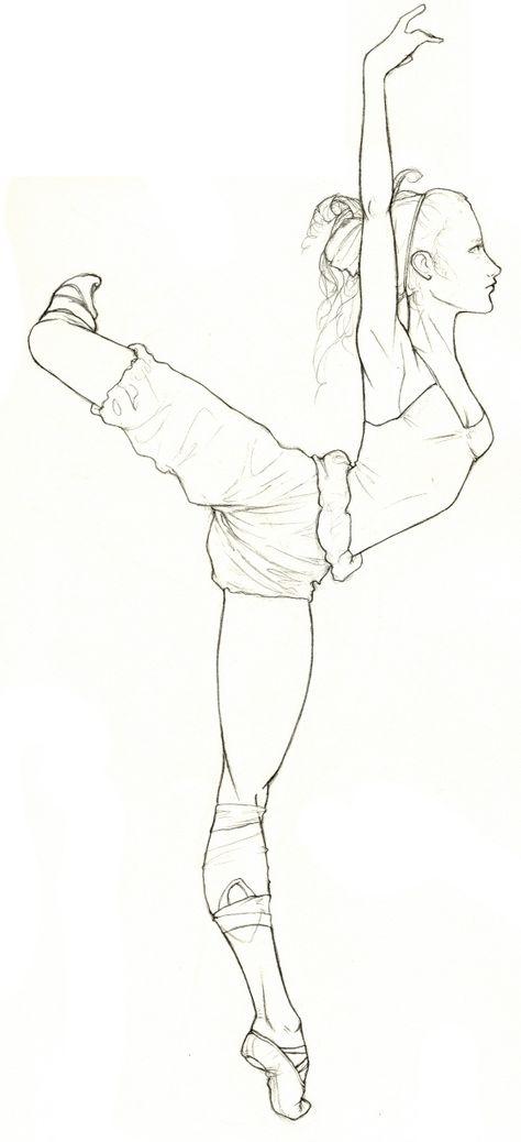Картинки для срисовки танцы современные