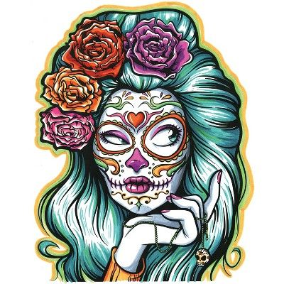 Crayola Sugar Skull Coloring Book
